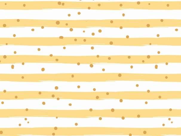 Jersey Stoff - Sprinkle Stripes - senf