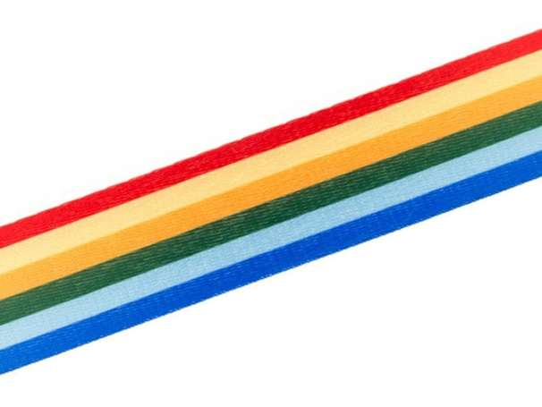 Gurtband 40mm - Retro Streifen - bunt