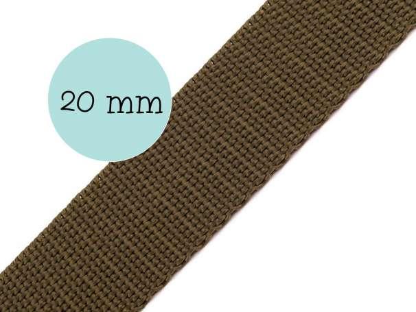 Gurtband - 20mm - khaki