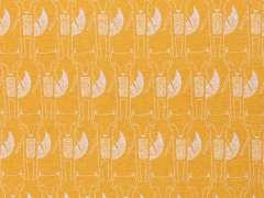 Jersey Stoff Benno - Fuchs - senf