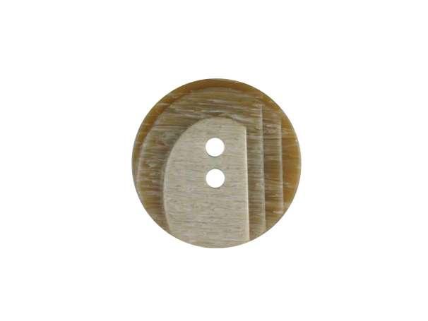 Modeknopf - 23 mm - beige