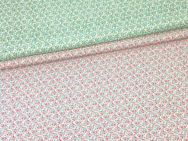 Baumwolle Stoff - Forget Me Not - verschiedene Farben