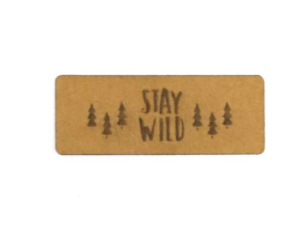 SnaPpap Label - Stay Wild