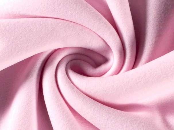 Baumwollfleece - Bene - rosa