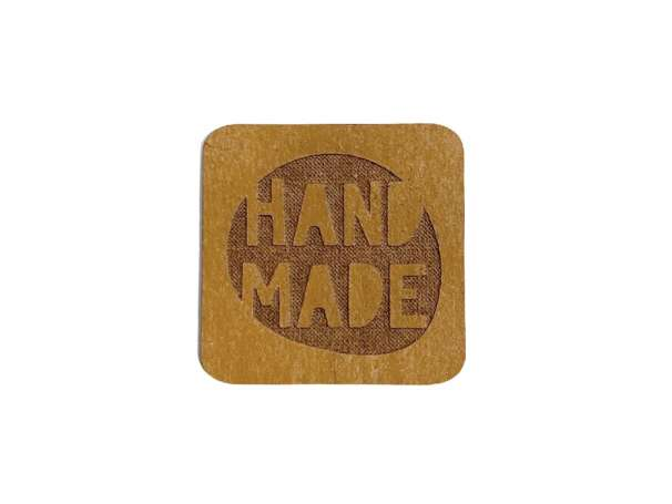 SnaPpap Label - Quadrat - HANDMADE