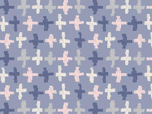 Baumwolle Stoff - Wonderful Things - Joy Crossroads Azure
