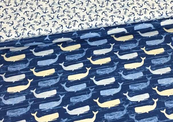 Baumwolle Stoff - Sand & Surf Serie