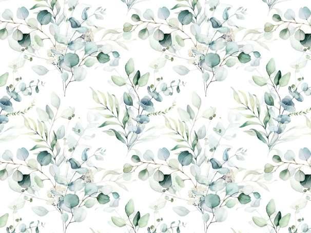 Jersey Stoff - Eukalyptus Bouquet