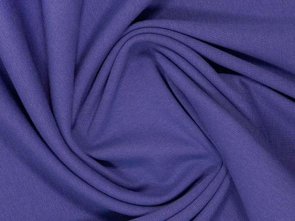 Bündchenstoff - blau