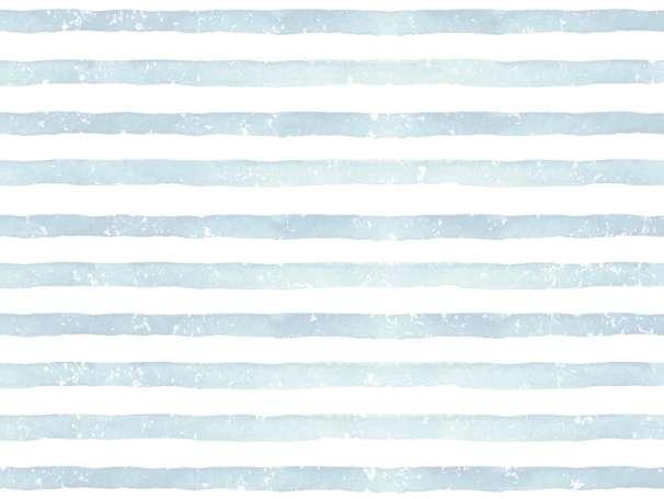 Jersey Stoff - Aquarell Streifen - eisblau