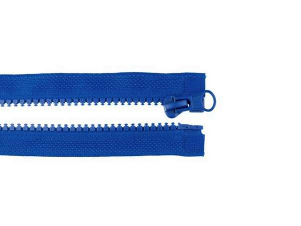 Teilbarer Reißverschluss - 90 cm - royalblau