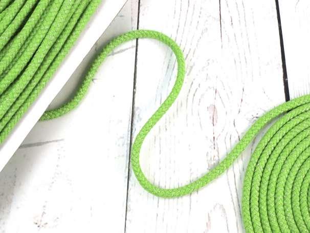 Glitzerkordel 10mm - grün
