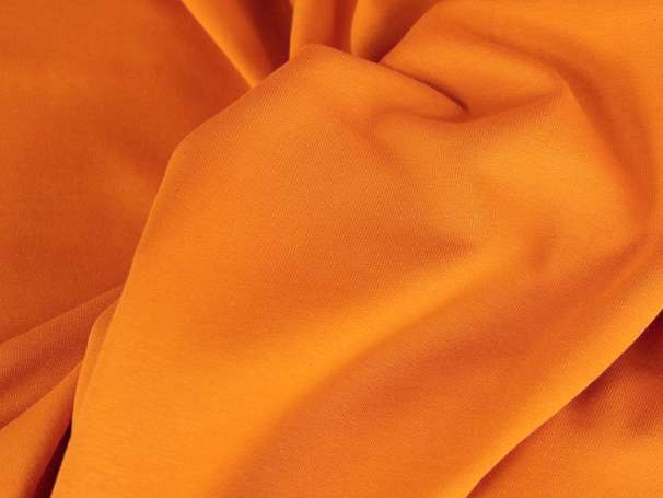 Sweat Stoff - orange