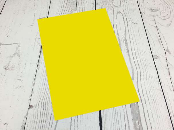 Powerflex Plotterfolie - DIN A4 - gelb
